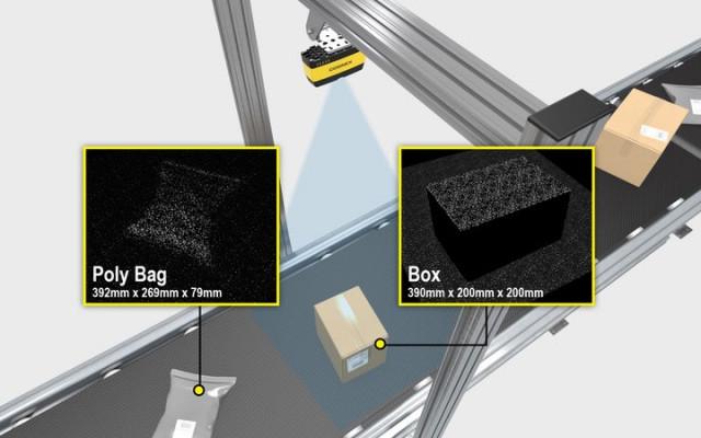 Produktbild zu Cognex 3D-A1000 Objekterkennungssystem