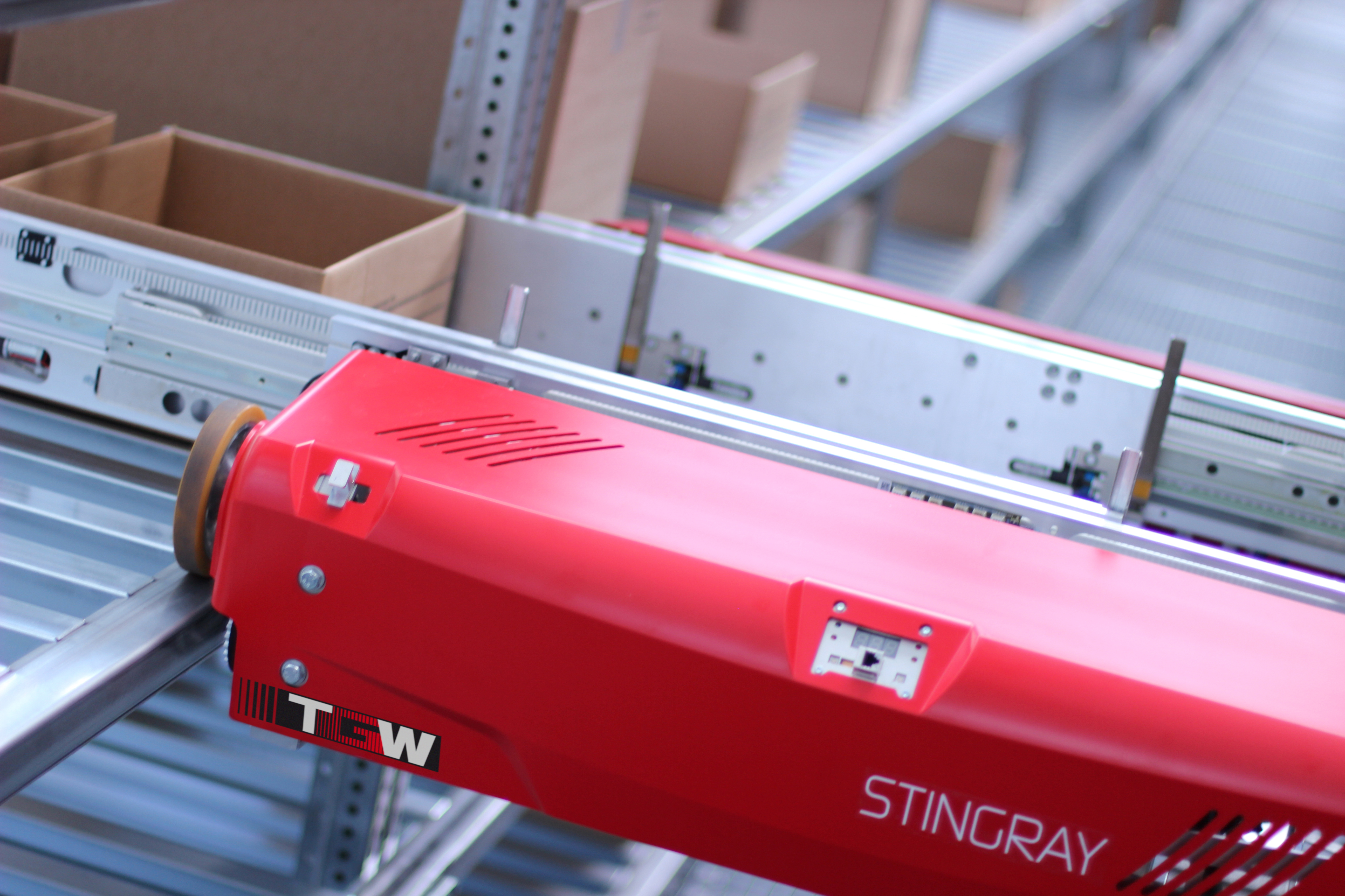 Produktbild zu Shuttle-Systeme Stingray